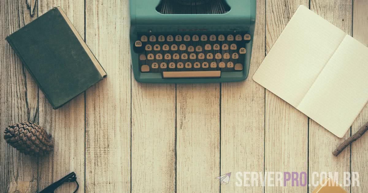 Preciso ser um excelente escritor para ter um Blog?